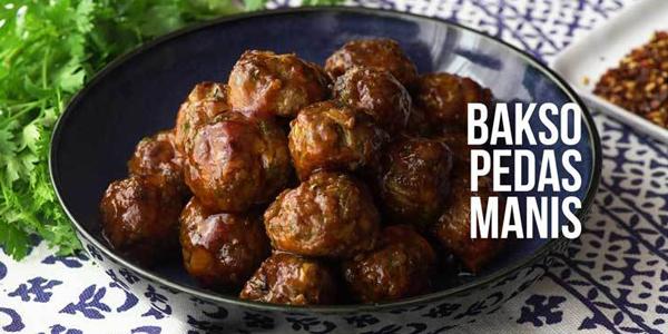 Resep Bakso Pedas Manis, Cocok Buat Pecinta Kuliner Pedas