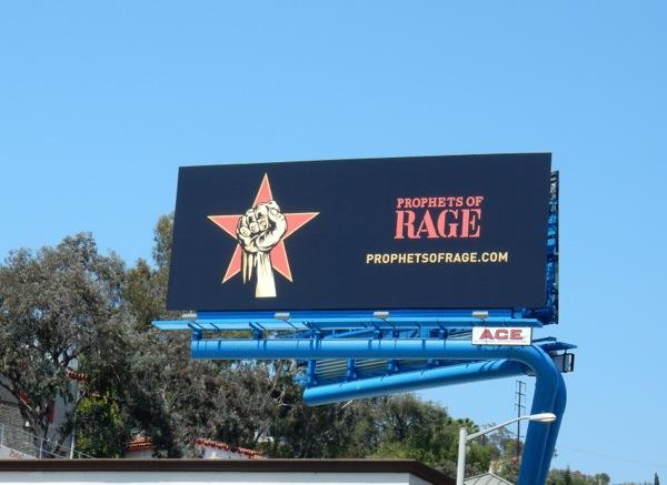 Prophets of Rage billboard