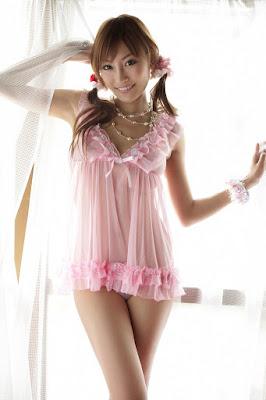 Kirara Asuka lingerie seksi