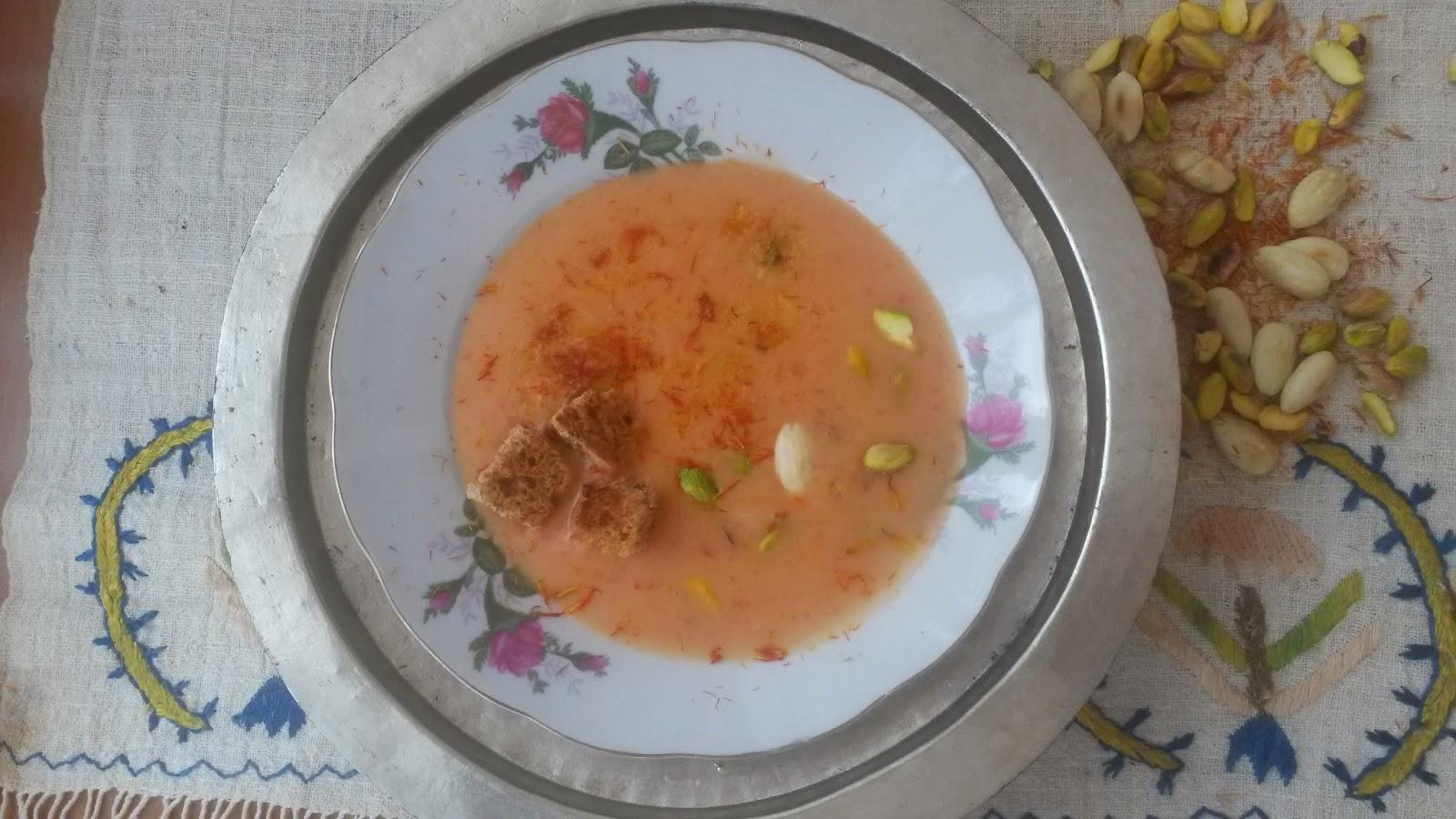 Antep Fıstık Çorbası Tarifi
