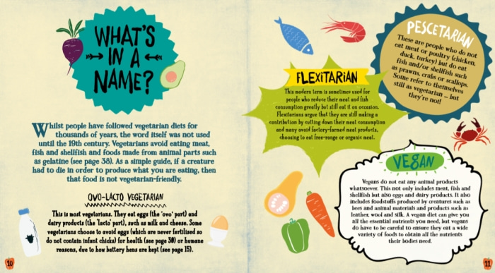 Living on the Veg: A kids' guide to life without meat - What's in a Name Chapter