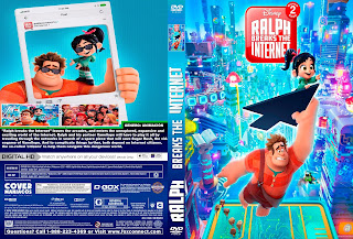 CARATULARALPH BREAKS THE INTERNET-RALPH ROMPE INTERNET 2018 (COVER DVD)