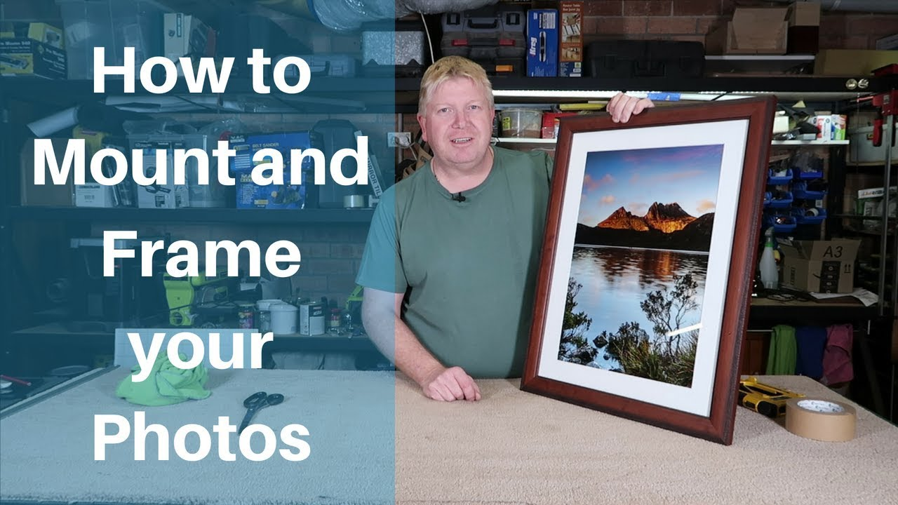 How to Mount and Frame Your Own Pictures
