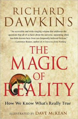 The Magic of Reality by Richard Dawkins and David McKean - book cover
