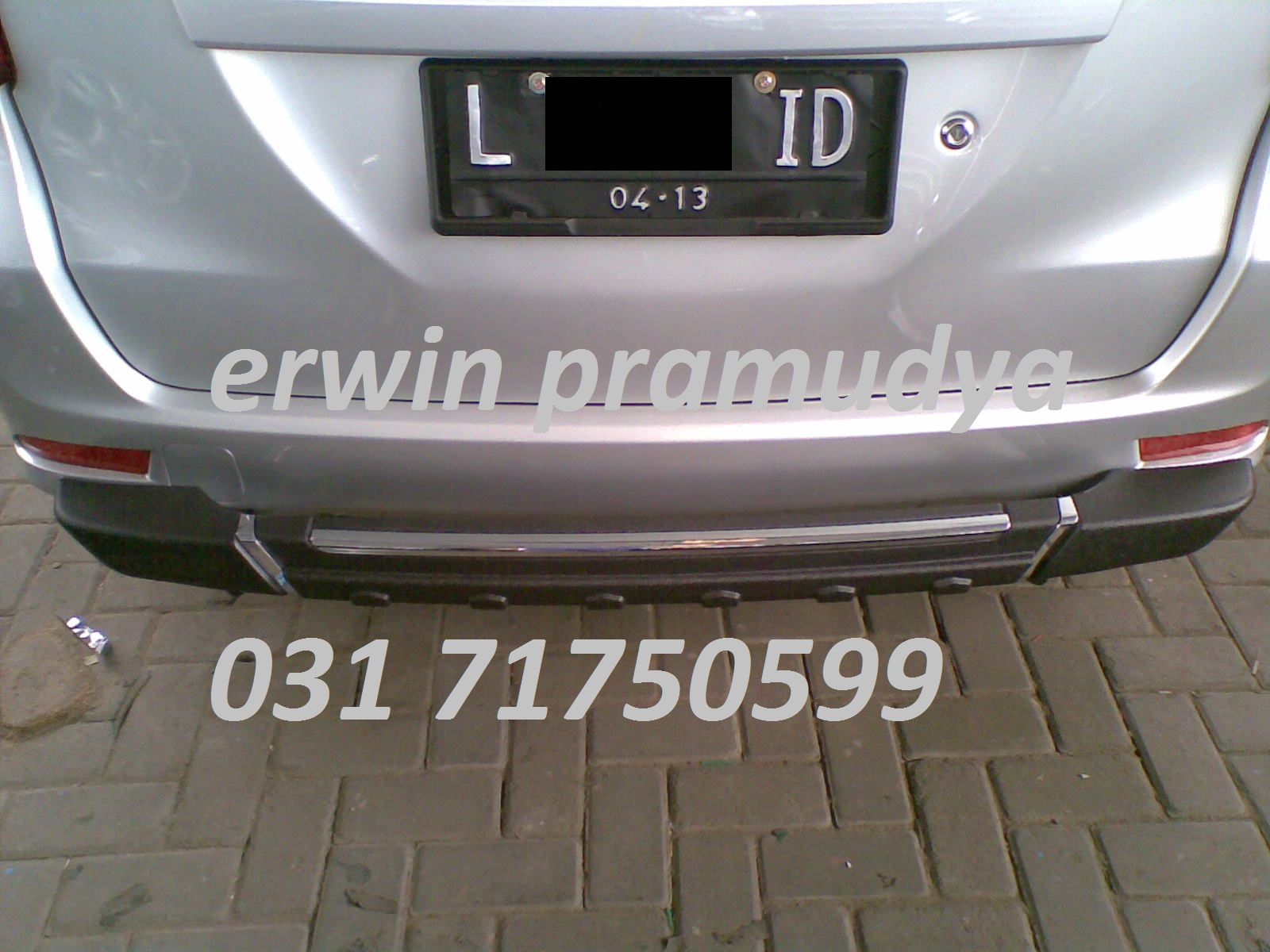 Lampu Belakang Grand New Avanza Toyota Yaris Trd White Accessories Mobil Surabaya ( 3m Auto Film )