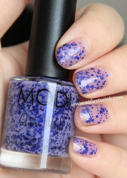 Modi nail polish 78 - Beautiful stranger : one coat