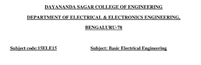 Basic Electrical Notes
