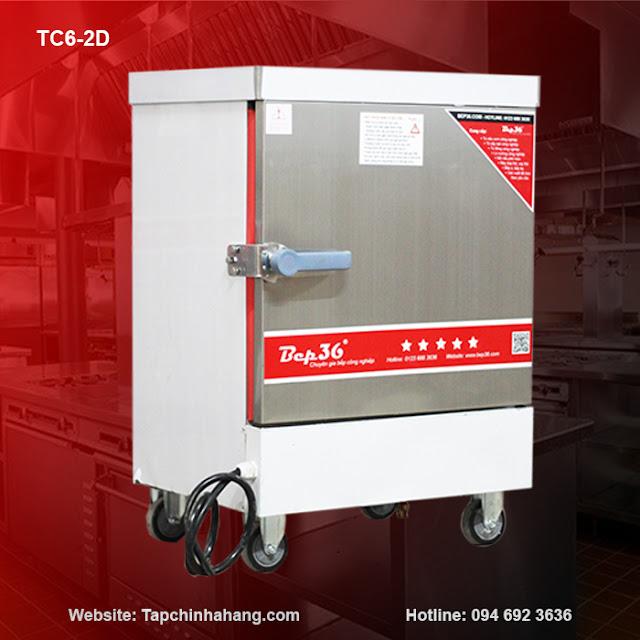 Tủ nấu cơm 6 khay sử dụng điện TCD6-2018