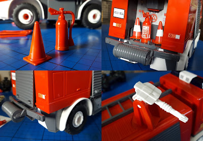Revell Juniors model Stage 1 Fire Engine opening hatches extinguisher cones