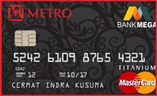 Kartu Kredit Mega Metro