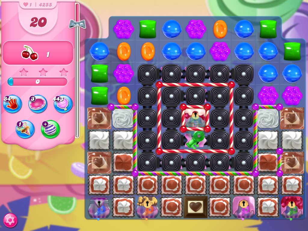 Candy Crush Saga level 4255