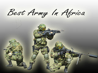 The Top Ten Best Army In Africa 2018