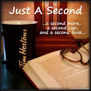 Just A Second - my book blog at JustASecondBlog.blogspot.com