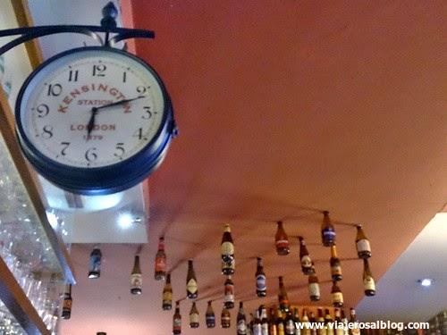 Cervecería La Mayor en Madrid.