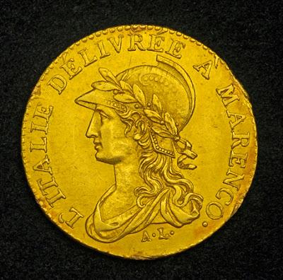 Napoleon 20 franc gold coin