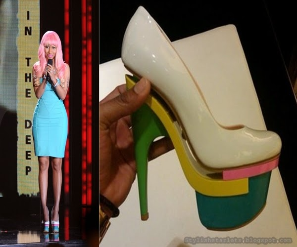 Nicki Minaj S Shoe Game Stylish Starlets