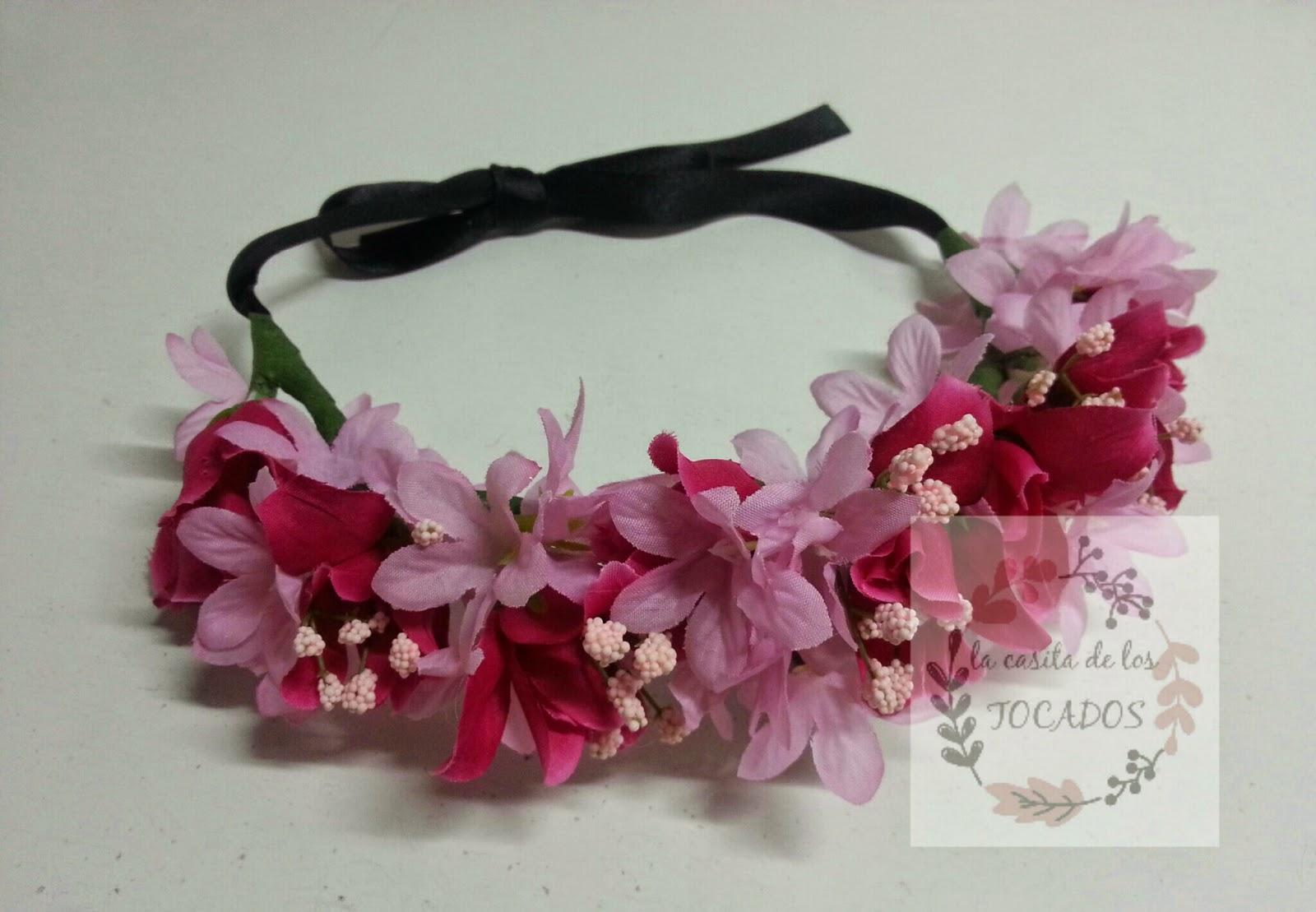 corona de flores para bodas barata y personalizada