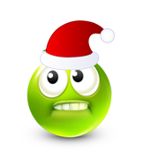 Christmas Smiley Icon 22