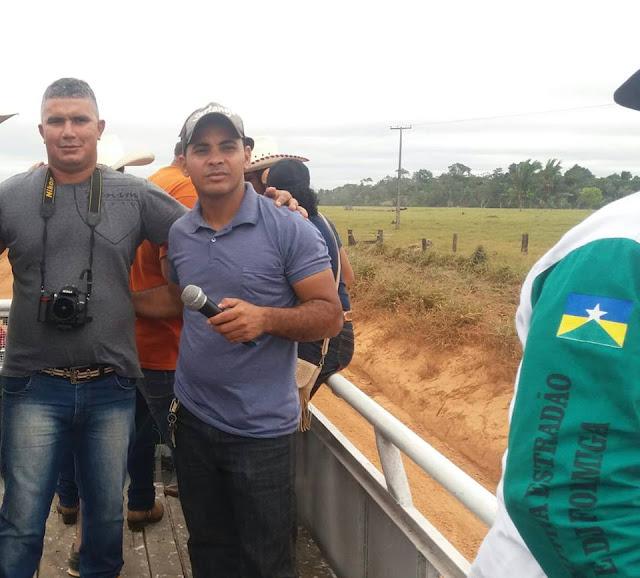 Radialista Beto Rosa esteve presente no evento que agitou final de Semana em Nova Dimensão
