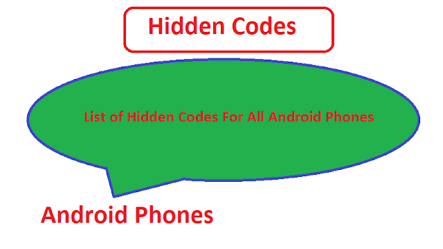 Android Phone codes
