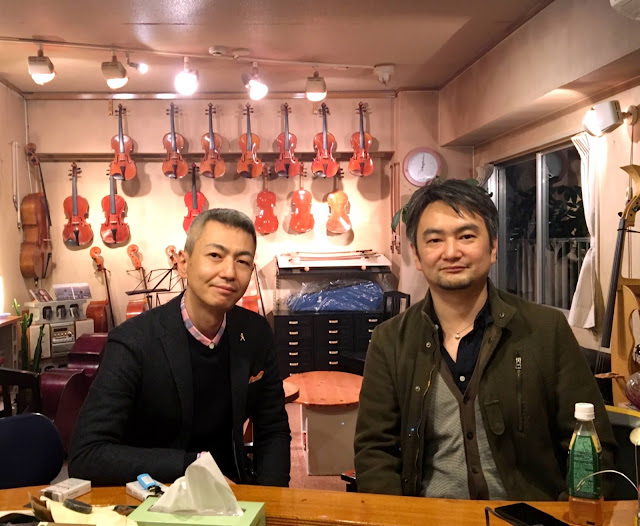 violin:喜多直毅 / contrabass:西嶋徹