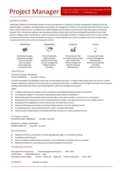 Project Manager Pmp Resume Sample Example Financial Project