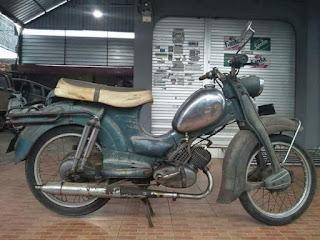 Lapak Motor Antik Moped Zundapp 1961
