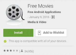 free movies aplikasi untuk nonton streaming film dan acara tv terbaik 2016