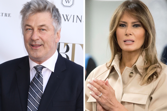 "Alec Baldwin Invites Melania Trump To ""Come Over To The Light"" And Join Him On 'SNL'"