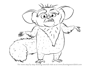 Maurice Madagascar Character Coloring Pages
