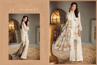 Ready Baroque Isabella chiffon party wear suits