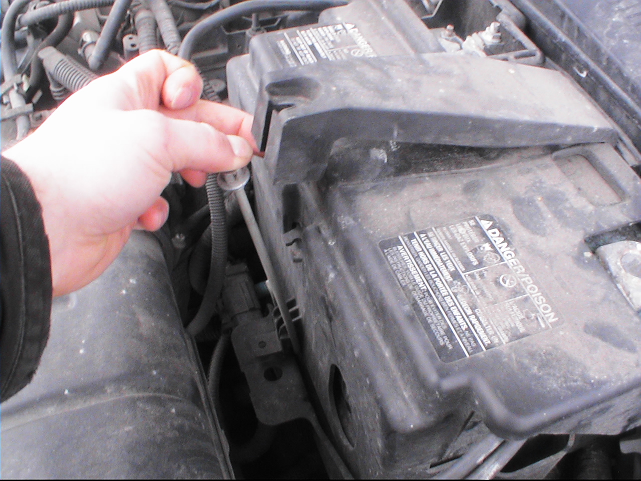fh auto repair   change  battery