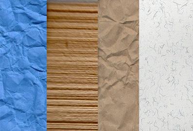 50 excelentes texturas de papel