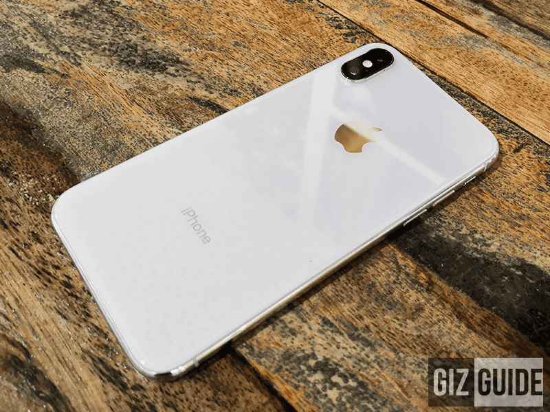 iPhone X glass back