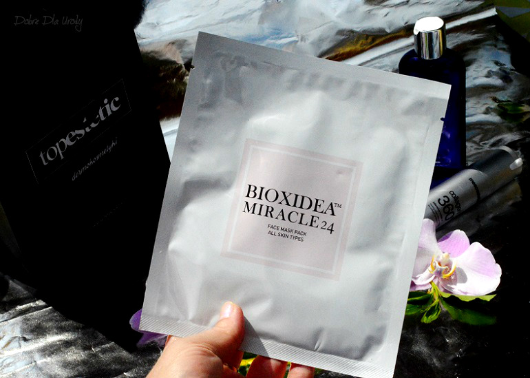 Bioxidea Miracle 24 Face Mask Maska do twarzy - rcenzja