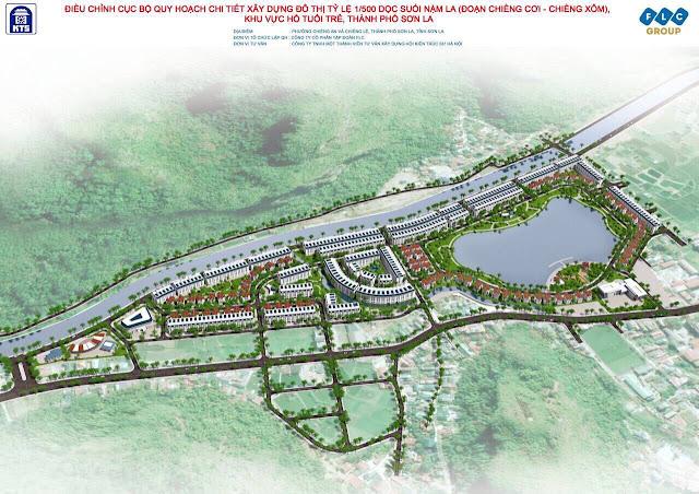 Dự án Flc LakeVille Sonla hồ tuổi trẻ bản Cá khu đô thị Tp Sơn La