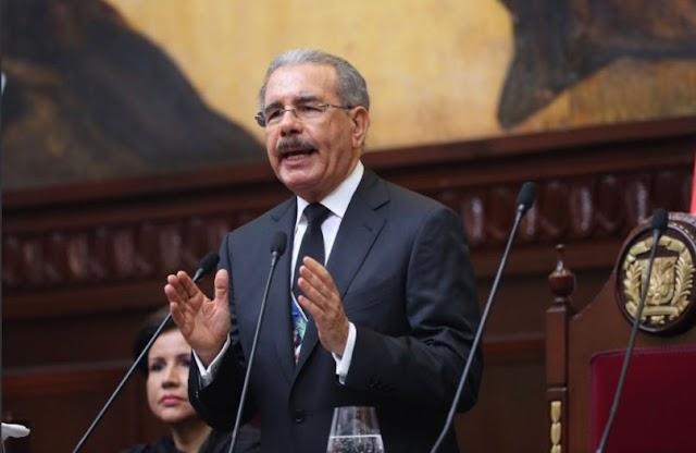 Vea aquí el discurso completo de Danilo Medina