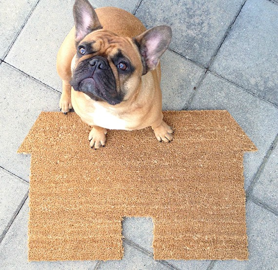 DIY house doormat
