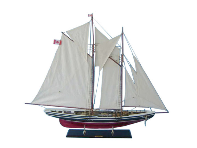 Bluenose 2 Schooner Model