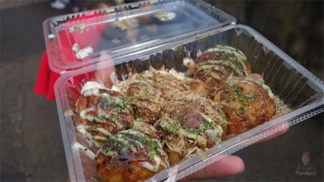 Takoyaki di Jepang