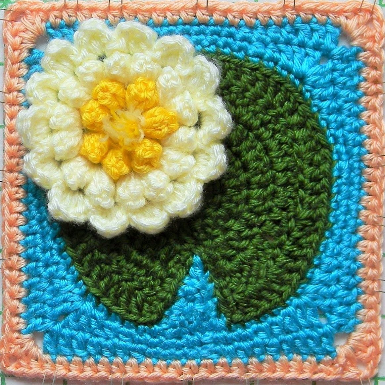 Txmommyladys Crochet Escape Crochet Pattern Water Lily Pad Granny