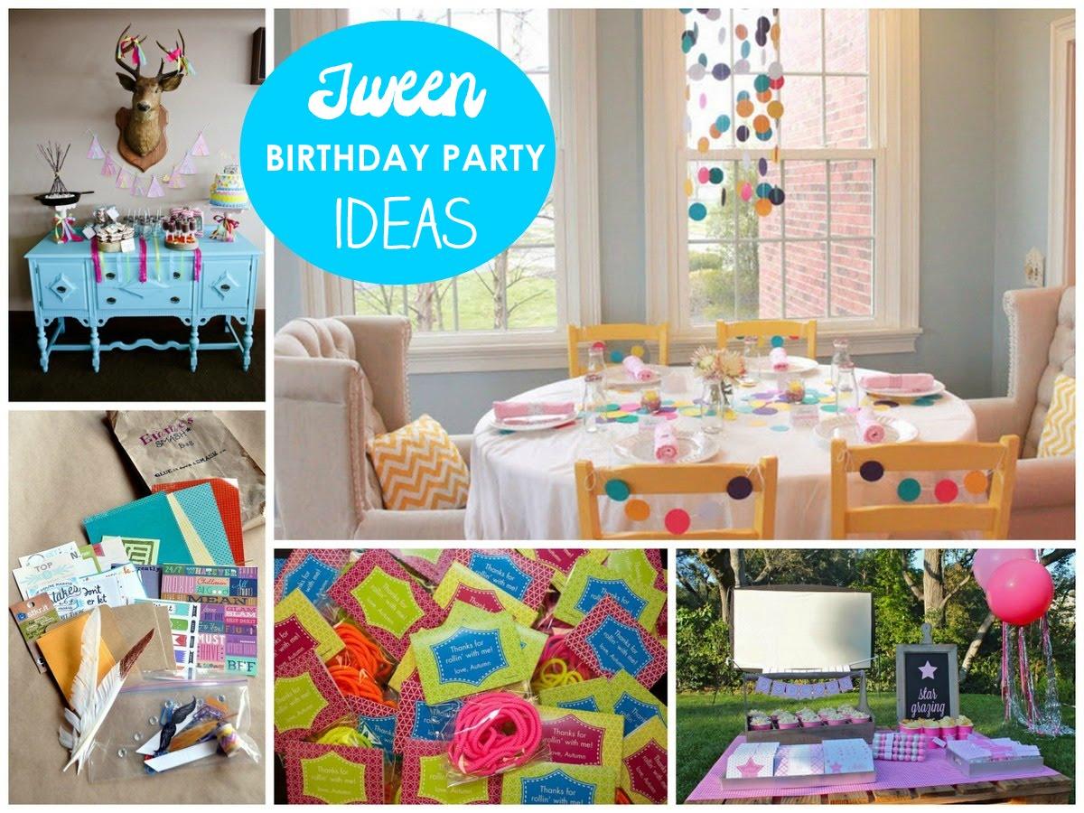 Tween Party Ideas