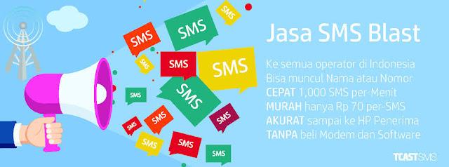 Jasa SMS LBA