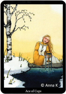 Anna K Tarot, Ace of Cups