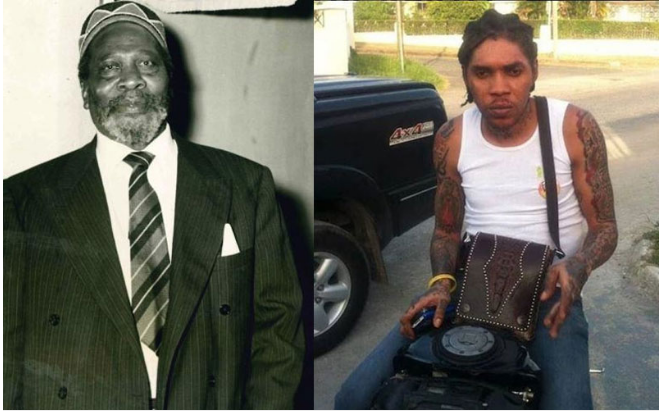 Tuesday September 18 2018 Jamaican Dance Hall Singer Vybz Kartel Has Revealed His Admiration For Mzee Jomo Kenyatta After He Shared A Quote From Kenyas