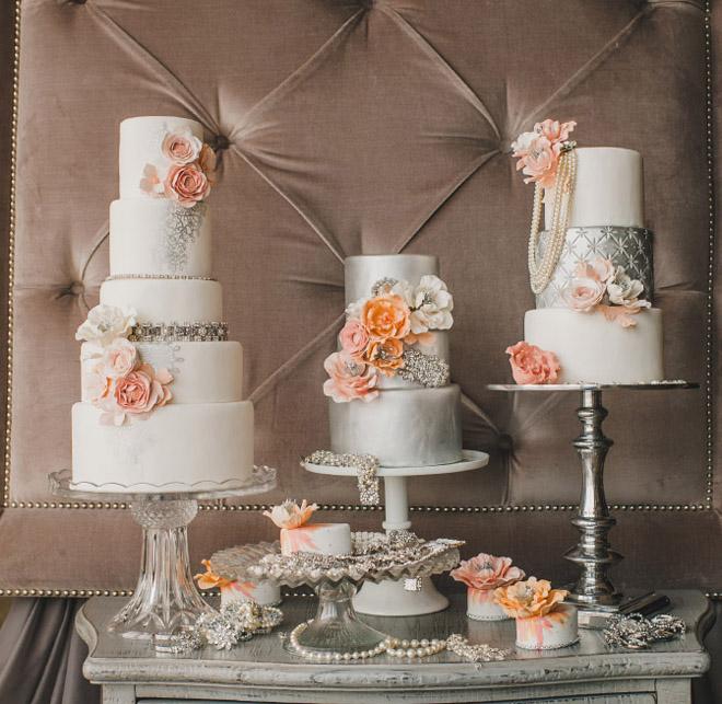 Glamorous Wedding Ideas: Glamorous Wedding Cakes