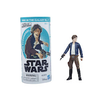 STAR WARS GALAXY OF ADVENTURES HAN SOLO Figure and Mini Comic