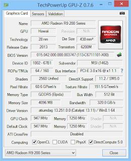 GPU-Z AMD