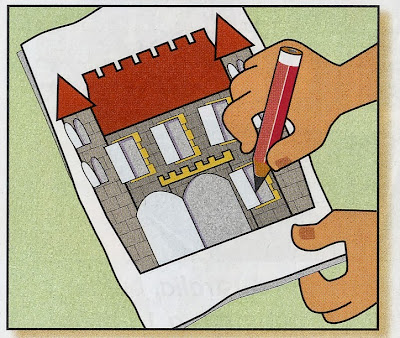 Castle project - Art projects for kids 3