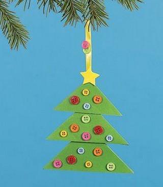 Arbolitos De Navidad De Goma Eva Portal De Manualidades - Como-trabajar-goma-eva